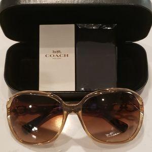 Brand New  COACH Kissing C Women's Sunglasses